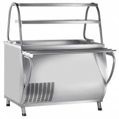 Прилавок холодильный Abat ПВВ(Н)-70М-НШ Патша