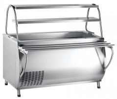 Прилавок холодильный Abat ПВВ(Н)-70М-01-НШ Патша