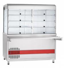 Прилавок-витрина холодильный Abat ПВВ(Н)-70КМ-С-01-ОК Аста