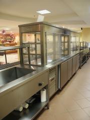 Витрина холодильная Камик ВХ/3 1800х700х850(1650) (2-е стеклянные полки 10мм.)