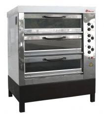 Печь хлебопекарная Восход ХПЭ-750/3 С (в обрешетке)