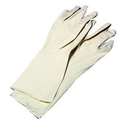 Перчатки для карамели р. 8/8. 5 (до 60 С); латекс; L=33см; бежев.