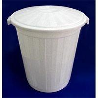 Бак для пищевых продуктов с крышкой 45 л, D=40 см, H=48 см
