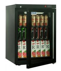 Холодильный шкаф Polair DM102-Bravo черный с замком