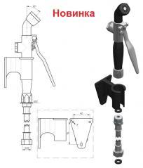Душ-лейка с креплением к стене Monolith