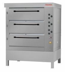 Печь хлебопекарная Восход ХПЭ-750/3 нерж (в обрешетке)