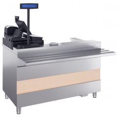 Кассовый стол с подлокотником ATESY Ривьера КСП-1120-02