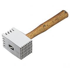Молоток для мяса 0.6 кг, 32см дер.ручка, алюминиевый Paderno
