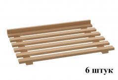 Комплект деревянных полок к ШЗХ-С-800.600-02-Р
