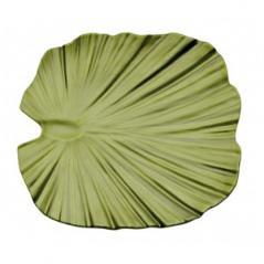 Блюдо для подачи пластик H=4.5,L=27,B=27см зелен.