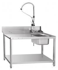 Стол предмоечный Abat СПМП-7-4 (1300х700) душ стойка для тунельных машин МПТ
