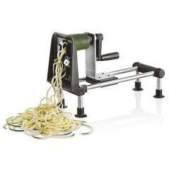 Машинка для декоративной нарезки овощей+ножи(1,2,4мм) металл,пластик H=23.5,L=29,B=12см Paderno