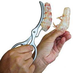 Ножницы для разделки креветок сталь нерж. L=165,B=65мм металлич.