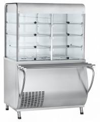 Прилавок-витрина холодильный Abat ПВВ(Н)-70М-С-01-НШ Патша