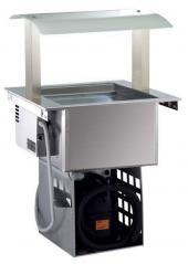Встраиваемая холодильная ванна Electrolux 2 GN вентилируемая с верхней стойкой