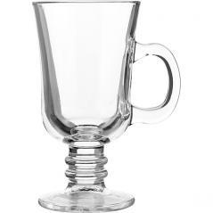 Бокал Irish Coffee Паб стекло 220мл D=75,H=145,L=108мм прозр.