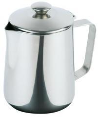 Кофейник сталь нерж. 1.5л H=18.4,L=16.2,B=11.7см металлич.