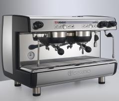 Кофемашина Casadio Undici A/2 220В автомат., 2 высокие группы, черная