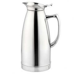 Кофейник-термос сталь нерж.; 0,75л; ,H=19,5см; серебрян.