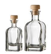 Бутылка для масла/уксуса 100мл 4,9х4,9х11см стекло, (без пробки, арт. пробки 5297.02) ZIEHER