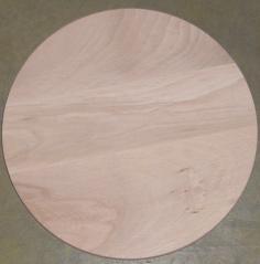 Доска для пиццы d340мм h20мм бук