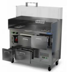 Модуль охлаждаемый для хот-догов Камик 1200*650*1200(1490).