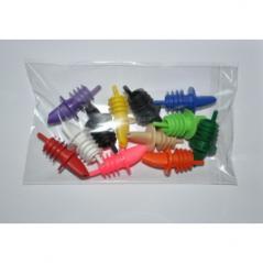 Гейзер пласт. цветные набор 12шт (10 цветов) MG